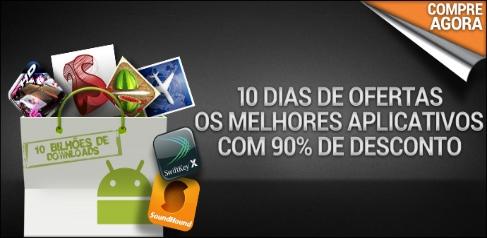 Último dia de apps a R$ 0,18 no Android Market