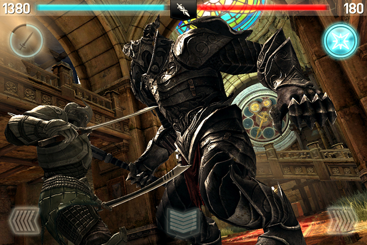 Infinity Blade II - Imagem 2 do software