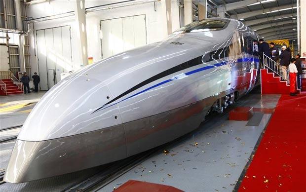 7e2188eec8f Trem chinês pode chegar a 500 km h - TecMundo