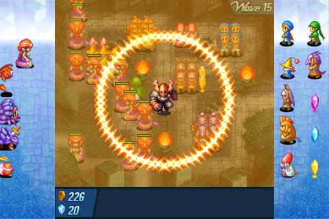 Crystal Defenders - Imagem 2 do software