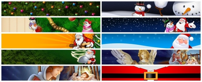 Cenas para MSN: Natal.