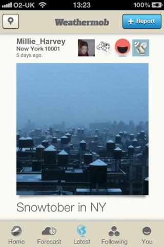 Weathermob - Imagem 2 do software