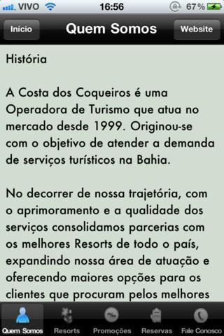 Costa dos Coqueiros - Imagem 1 do software