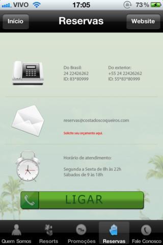 Costa dos Coqueiros - Imagem 2 do software