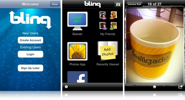 Blinq - Imagem 3 do software