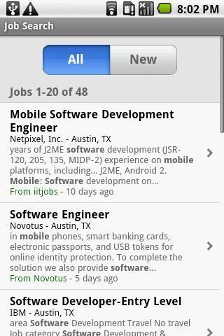Empregos - Imagem 2 do software
