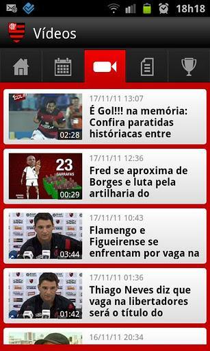 Flamengo SporTV - Imagem 2 do software