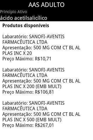 e-Med Medicamentos & Genéricos - Imagem 2 do software