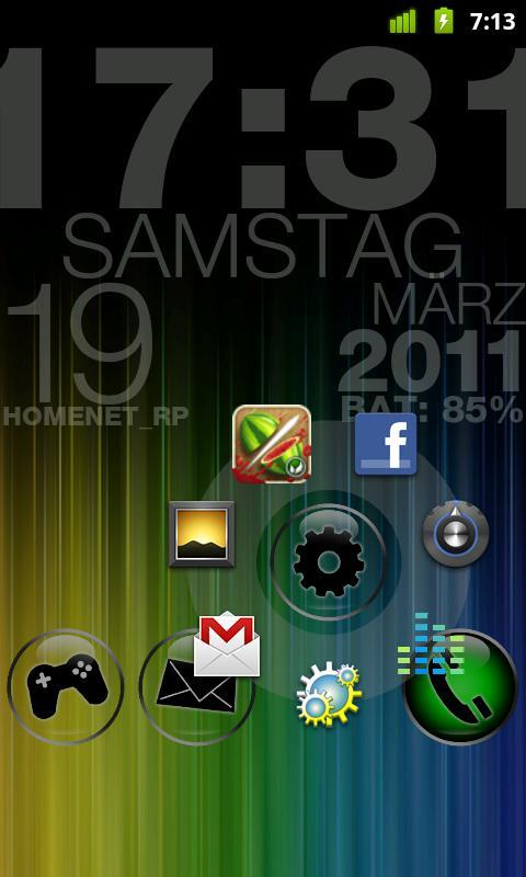 CircleLauncher light - Imagem 3 do software