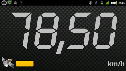 Android-Velocímetro - Imagem 1 do software