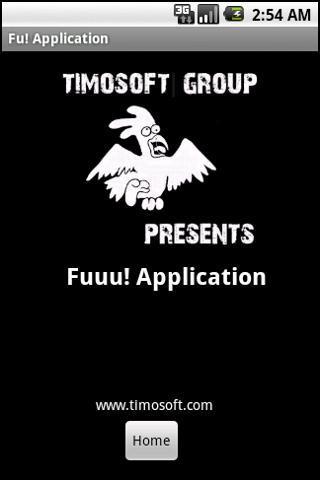 Fu! Application - Imagem 2 do software