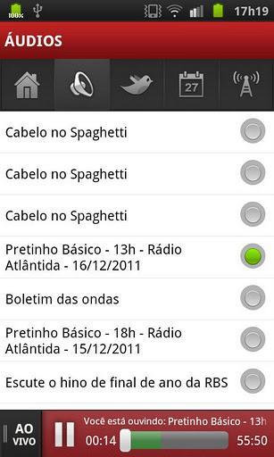 Rádio Atlântida - Imagem 1 do software