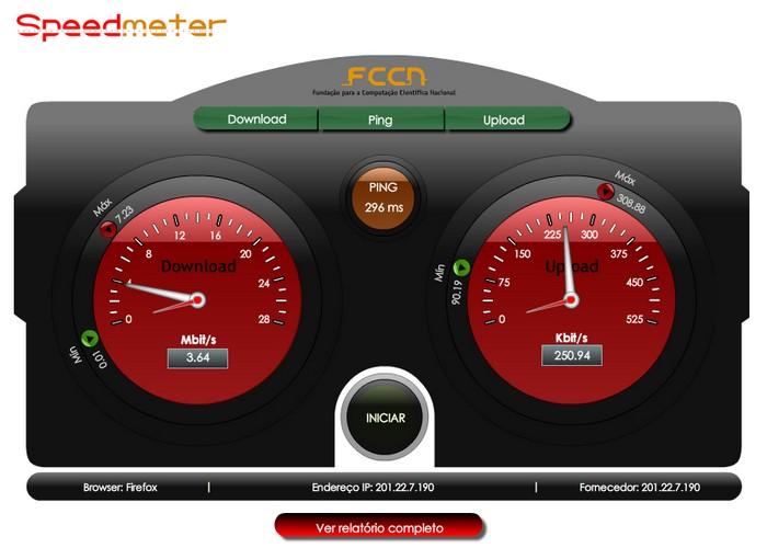 Speedmeter.