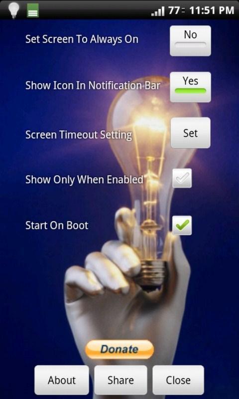 Screen On Toggler - Imagem 1 do software