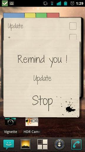 Note!t Widget - Imagem 2 do software