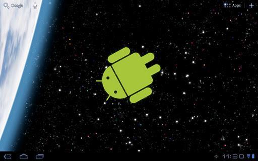 Droid no Espaço Live Wallpaper - Imagem 1 do software