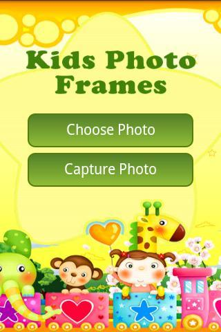Kids Photo Frames - Imagem 1 do software