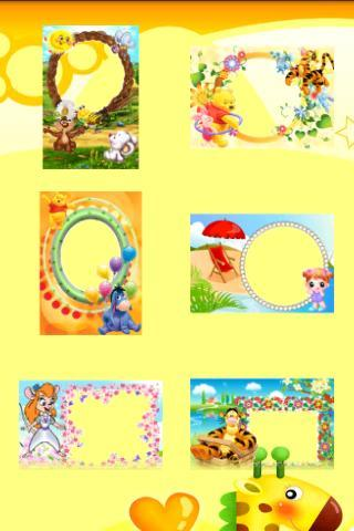 Kids Photo Frames - Imagem 2 do software