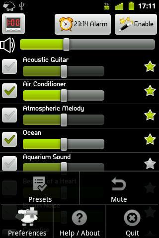 Relax and Sleep - Imagem 1 do software