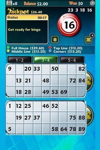 Pocket Bingo Free - Imagem 1 do software