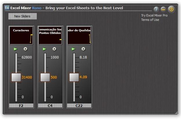 Excel Mixer Nano.