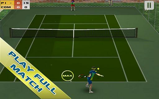 Cross Court Tennis Free - Imagem 1 do software