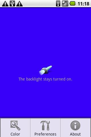 OI Flashlight - Imagem 2 do software