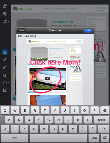Skitch for iPad - Imagem 2 do software