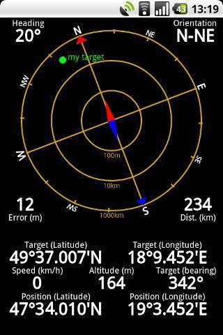 GPS Status - Imagem 2 do software