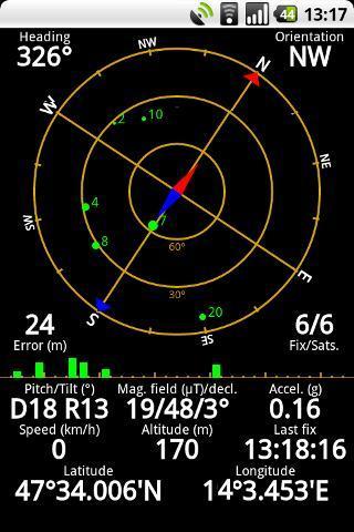 GPS Status - Imagem 1 do software