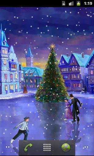 Christmas Rink Live Wallpaper - Imagem 1 do software