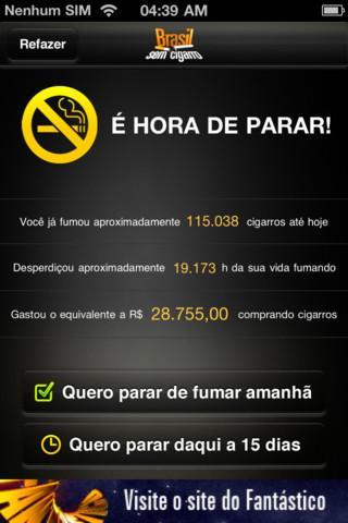 Brasil Sem Cigarro - Imagem 1 do software