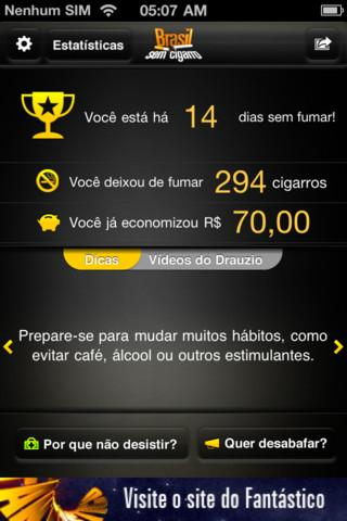 Brasil Sem Cigarro - Imagem 2 do software