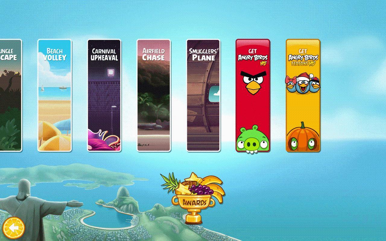 Angry Birds Rio - Imagem 3 do software