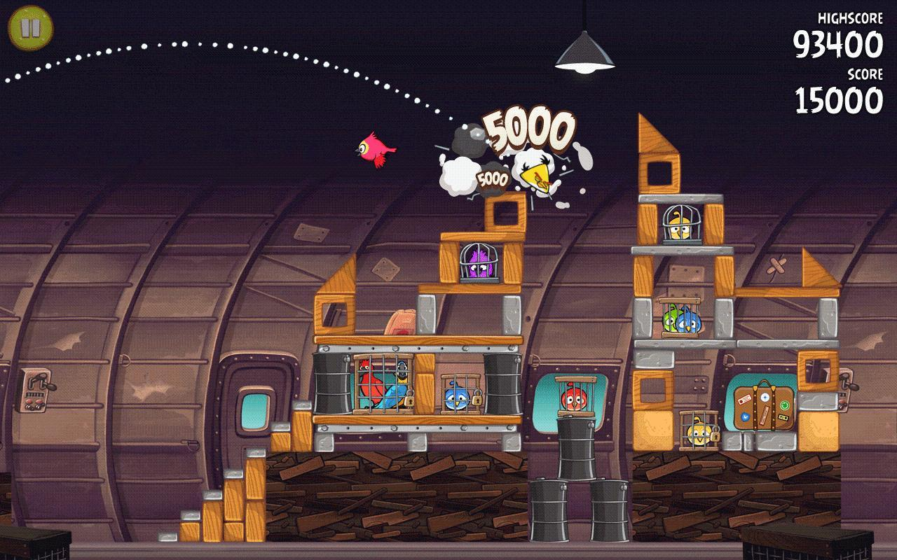 Angry Birds Rio - Imagem 2 do software