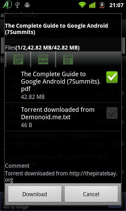 aDownloader - Imagem 1 do software