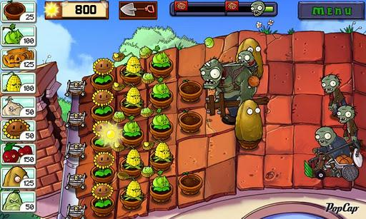 Plants vs. Zombies - Imagem 3 do software