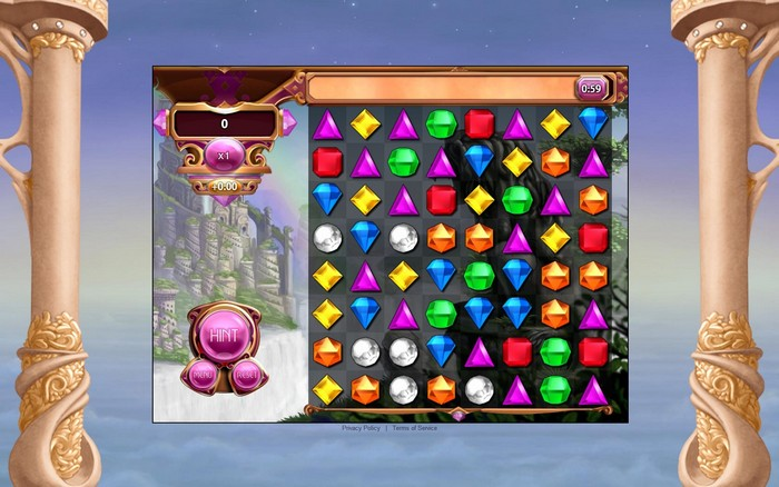 Bejeweled para Chrome