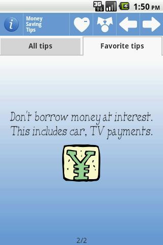 Money Saving Tips - Imagem 2 do software