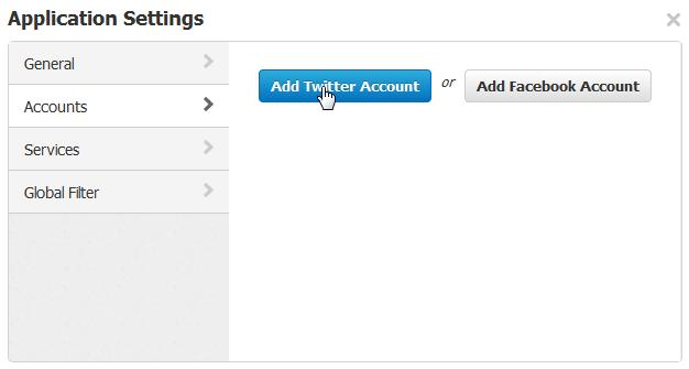 Adicione contas ao seu TweetDeck