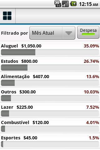 Finanças Pessoais - Imagem 2 do software