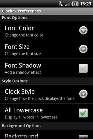 Clockr - Imagem 2 do software