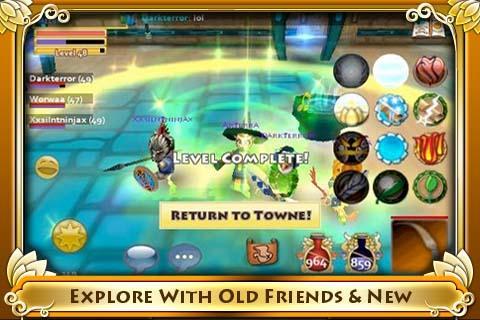 Pocket Legends - Imagem 4 do software