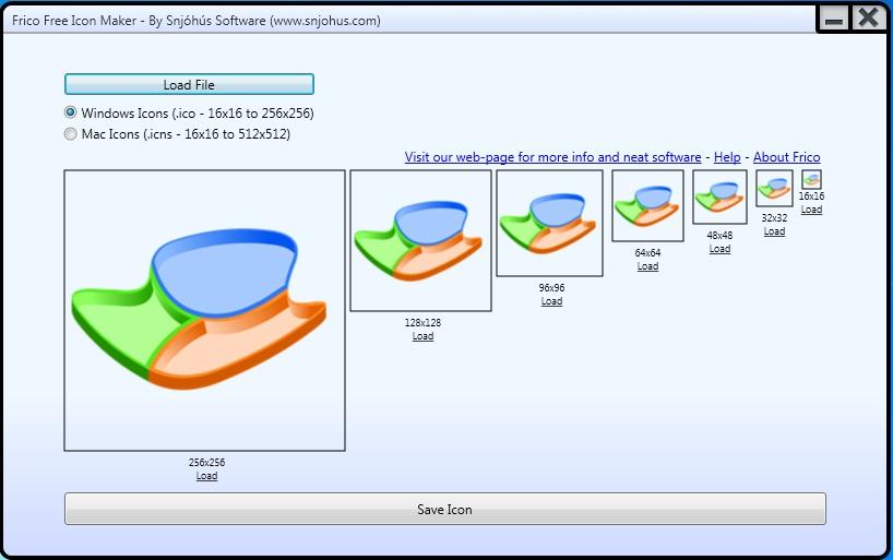 Frico Free Icon Maker - Imagem 1 do software