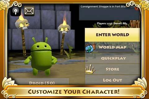 Pocket Legends - Imagem 5 do software