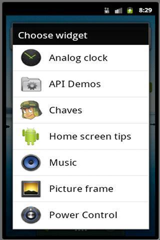 Chaves Widget - Imagem 1 do software