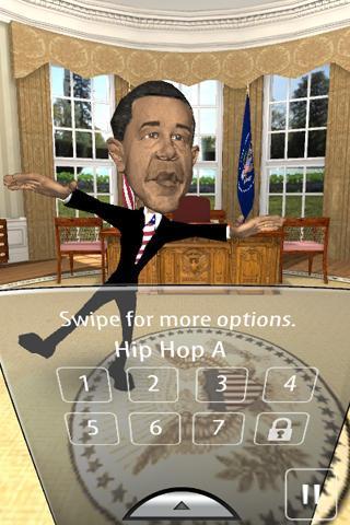 Dance Man Obama - Imagem 2 do software