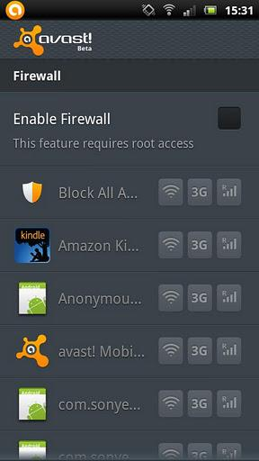 avast! Mobile Security - Imagem 4 do software