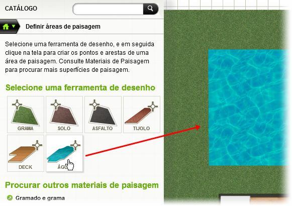 Faça gramados e piscinas na sua casa!
