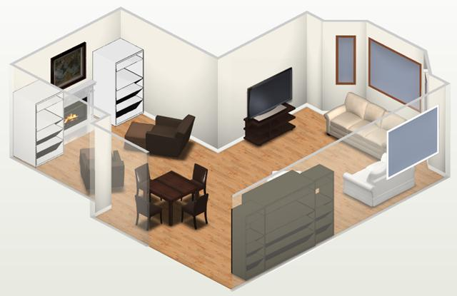 Visualize o projeto em 3D